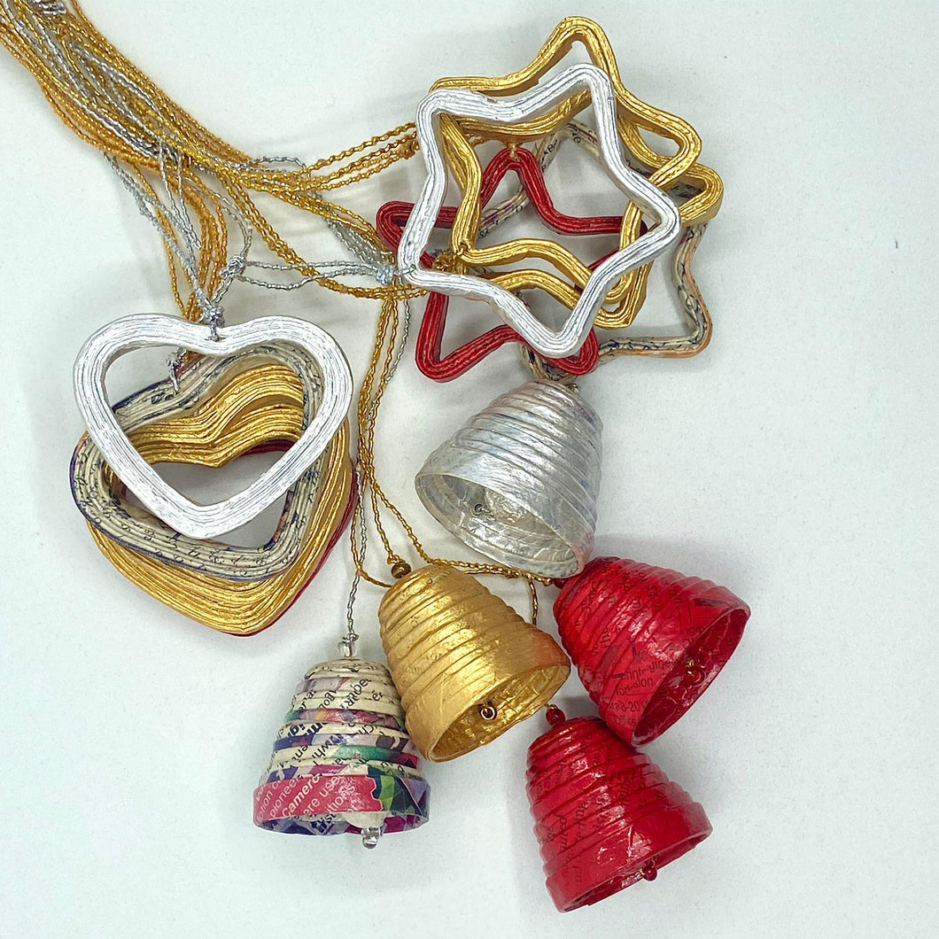 Christmas ornaments collections of 15