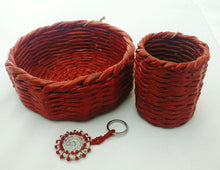 Round Astound - Basket, Pen Holder and Keychain