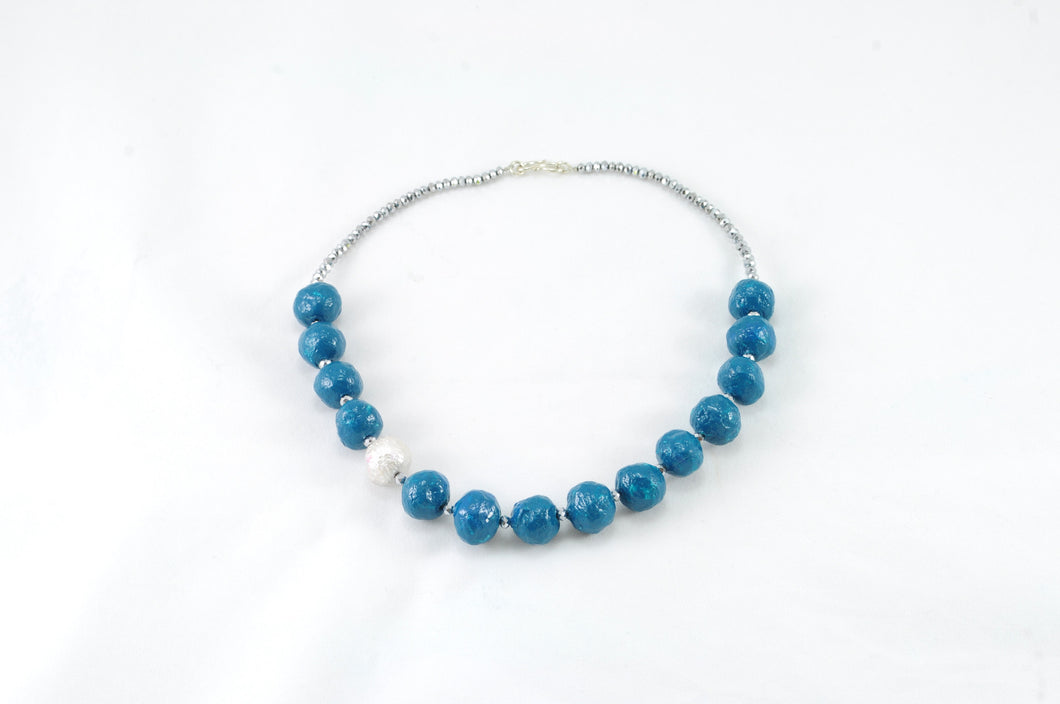 Necklace ( 15 Pulb beads - Pearl)