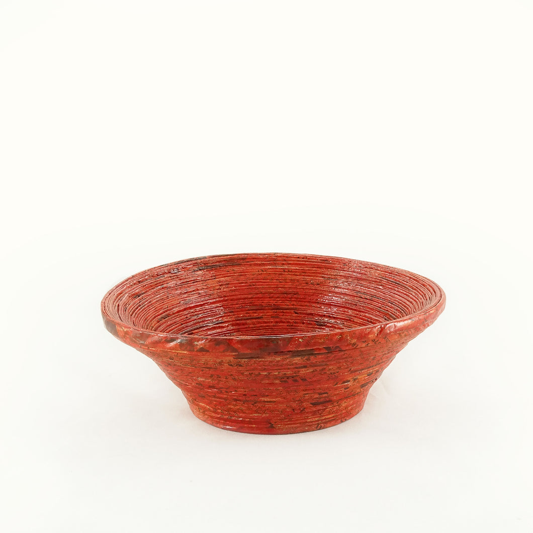 Rolled Round Bowl (Medium)