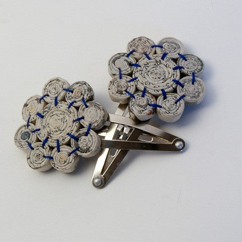 Hairpin (3 flower bead)