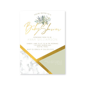 Boho Chic Digital Invitation