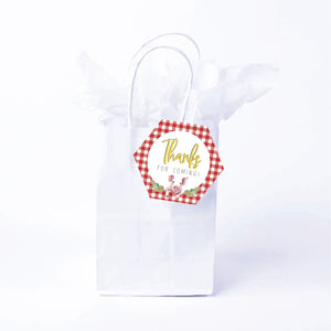Charlotte's Web Favor Bags & Tags