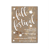 Gold Autumn Digital Invitation