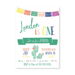 Fiesta Digital Invitation