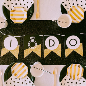 Gold Bachelorette Custom Bunting