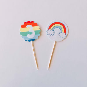 Rainbow Vibes Toppers