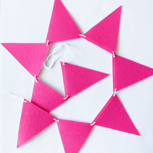 Wild Child Hot Pink Garland