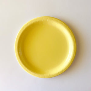 "Sunshine Yellow 9"" Dinner Plate"
