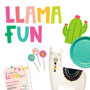 Llama Fun Party