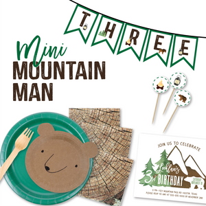 Mini Mountain Man Party