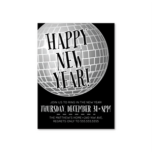 New Year's Eve Digital Invitation