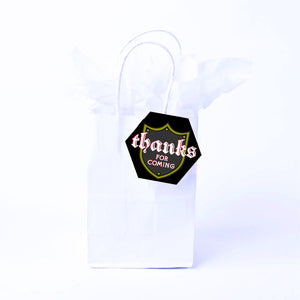 Noble Knight Favor Bags & Tags