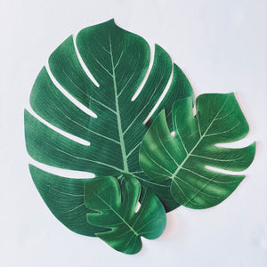 Wild Child Palm Leaves Table Decor