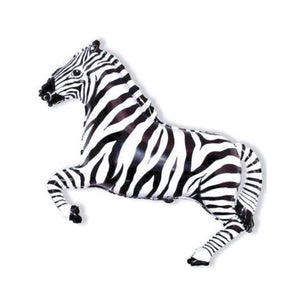 Party Animal Zebra Balloon