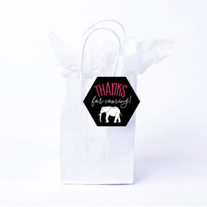 Party Animal Favor Bags & Tags