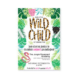 Wild Child Digital Invitation
