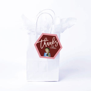 Wonderland Favor Bags & Tags
