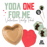 Yoda One For Me Valentine Party