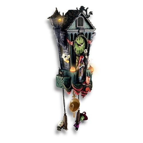 Cuckoo Clock: Tim Burton's The Nightmare Before Christmas Wall ...