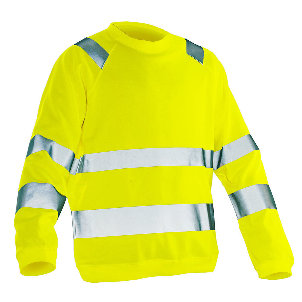 High Vis Sweatshirt | Practical 1150 Jobman Workwear