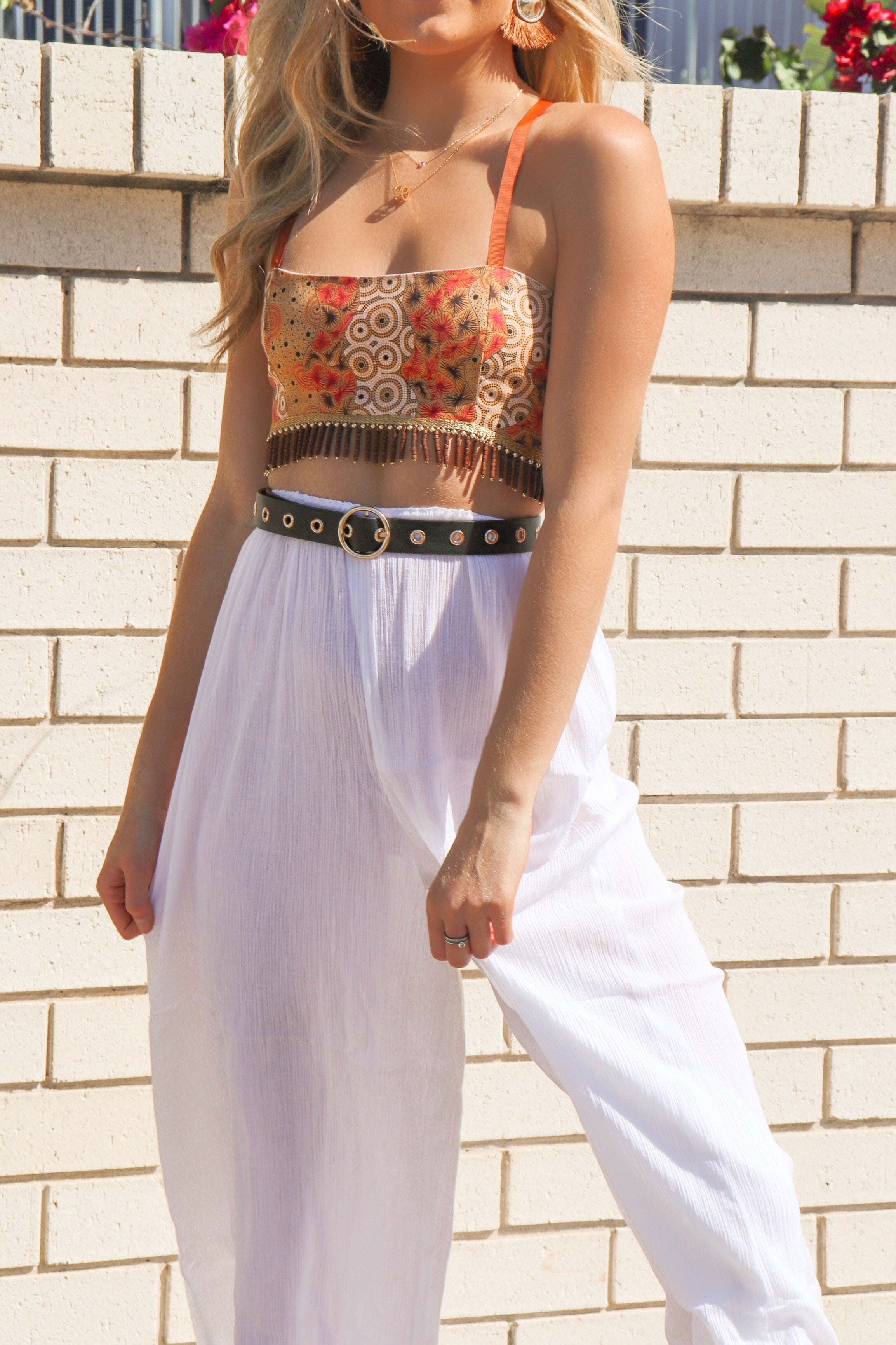 Gold Rush Crop - Babcia The Label