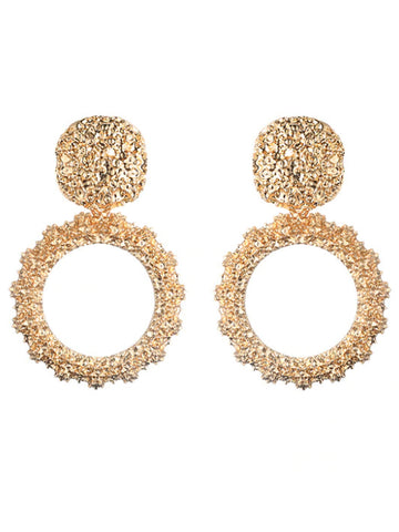 Priscilla Earrings - Gold - Babcia The Label