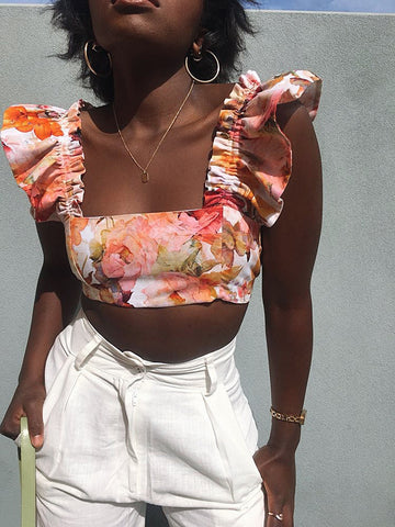 La Contessa Butterfly Crop