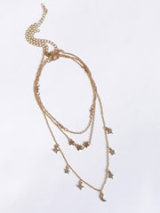 Starshine Layered Necklace - Babcia The Label