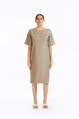 Handwoven Engineered Mudpie Shift Dress