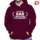 The Best Dad was born in November V.BB Hoodie