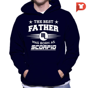 The Best Father was born as Scorpio V.CB Hoodie