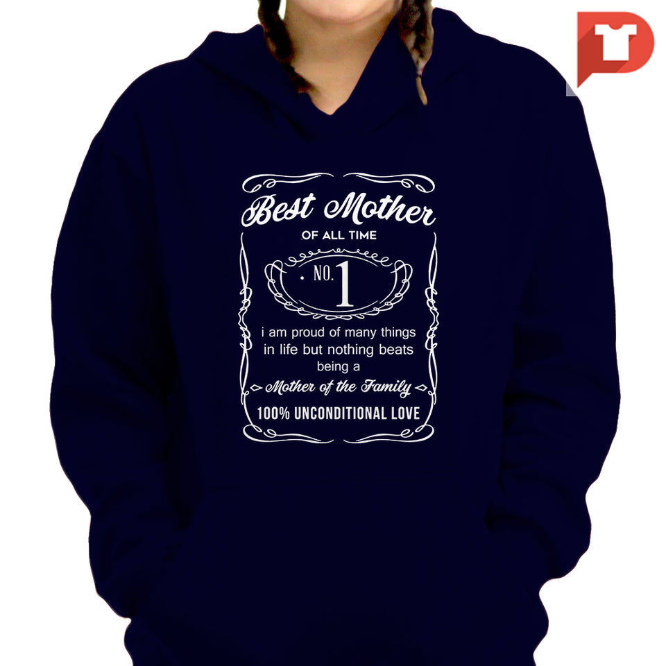 Best Mother (Jack Daniels inspired) V.57 Hoodie