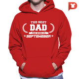 The Best Dad was born in September V.B9 Hoodie