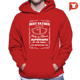 Best father (Jack Daniels inspired) V.57 Hoodie