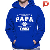 The Best Papa was born as Libra V.CA Hoodie