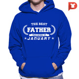 The Best Father was born in January V.B1 Hoodie