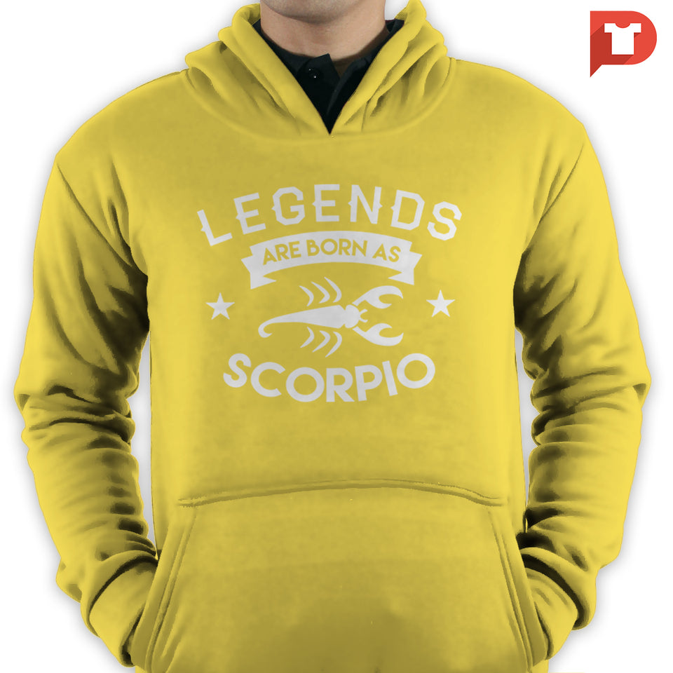 Scorpio (Legends are born as Scorpio) V.80 Hoodie
