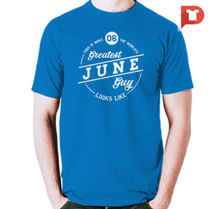 June V.87 Cotton Tee