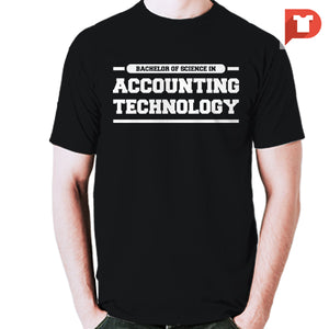 Accounting Technology V.21 Round-neck Tee