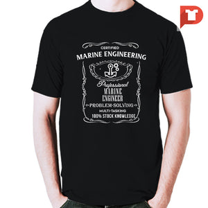 Marine Engineering V.f8 Cotton Tee