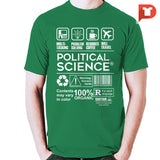 Pol Sci V.50 Cotton Tee