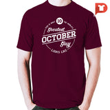 October V.87 Cotton Tee