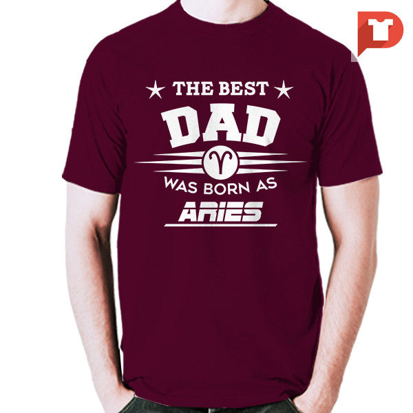 The Best Dad was born as Aries V.C4 Cotton Tee