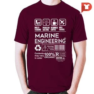 Marine Engineering V.f2 Cotton Tee