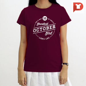 October V.86 Cotton Tee