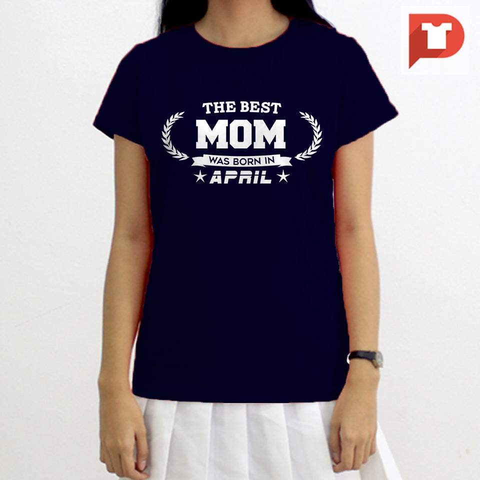 Mom V.B4 Cotton Tee