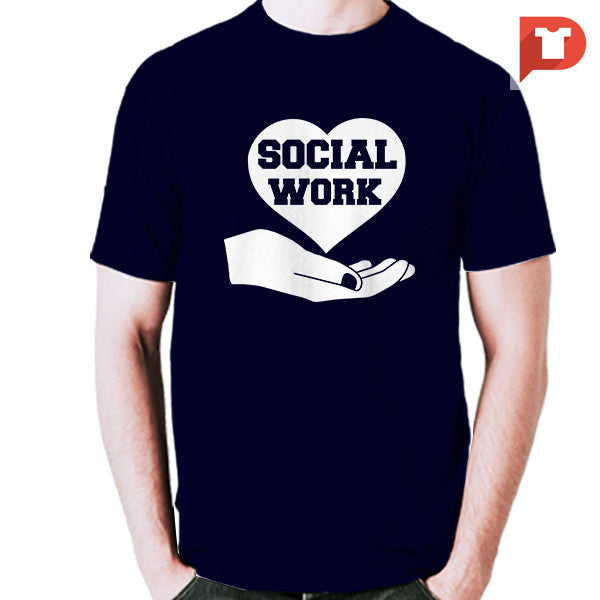 Social Work V.F2 Cotton Tee