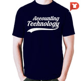 Accounting Technology V.F1 Round-neck Tee