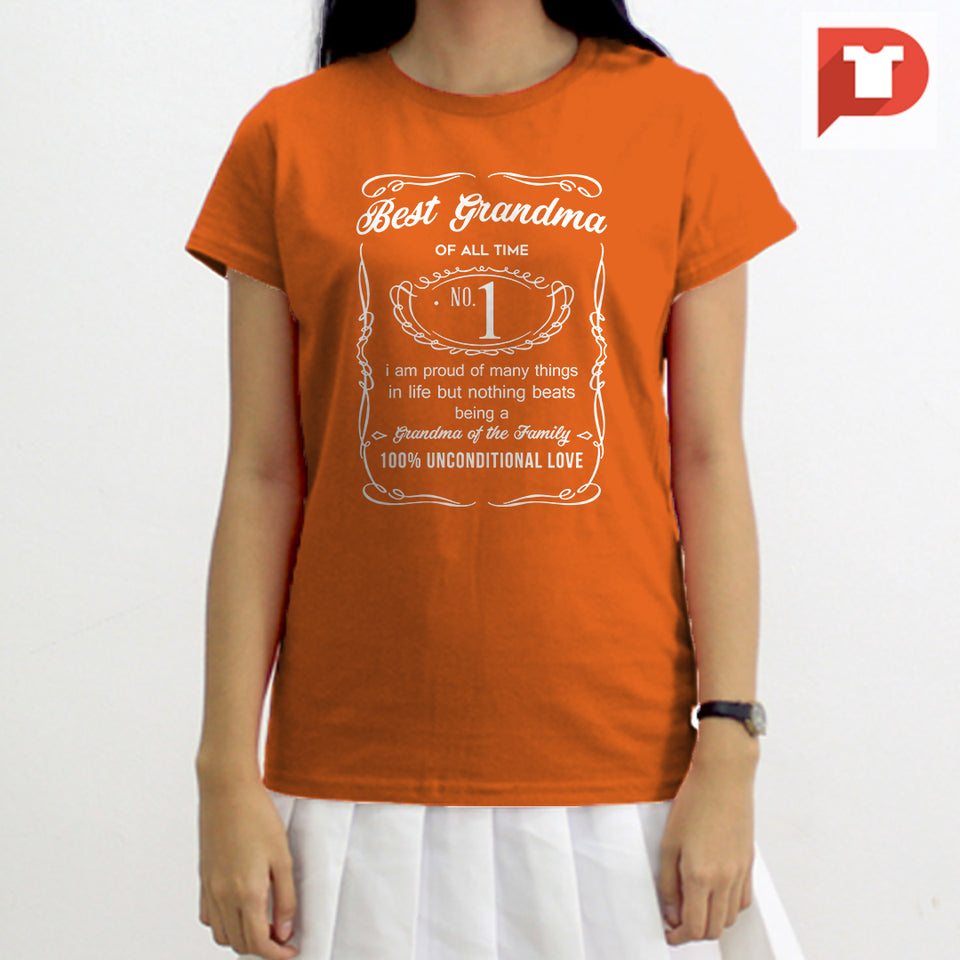 Best Grandma (Jack Daniels inspired) V.57 Cotton Tee